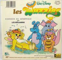 Les Gummis & Les Wuzzles - Disque 45Tours - Ades 1985 (1)