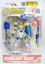 Gundam Seed - 4.5\'\' Mobile Suit Action Figure - GF13-009NF Gundam Rose (Completed)  01