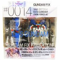 Gundam FIX Figuration #0014 -MSA-001 (Ext) EX-S Gundam [Task Force Alpha] - Bandai