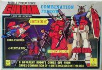 Gundam set 3 RX78 combination Jr