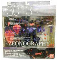 Gundam Zeonography #3013 - AMX-004-2 Qubeley  Mk-II [AMX-004G Qubeley Mass Production Type] - Bandai