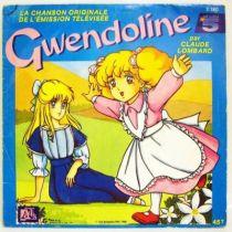 Gwendoline - Mini-LP Record - Original French TV series Soundtrack - Ades Records 1988