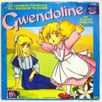 Gwendoline - Mini-LP Record - Original French TV series Soundtrack - Ades Records 1988