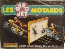 Gyro Jets Stunt Cycles - Meccano - Motorcycles with paper screen