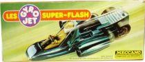Gyro Jets Super-Flash - Meccano - Metallic blue Side Winder