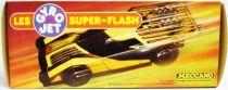 Gyro Jets Super-Flash - Meccano - Metallic yellow GT Coupé