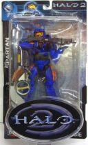 Halo 2 (Serie 3)  - Blue Spartan (oranges strip)