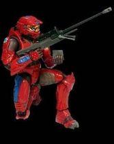 Halo 2 (Serie 4) - Red Spartan (blue strip)