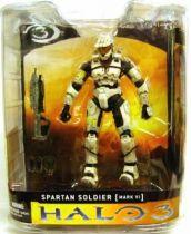 Halo 3 - Series 1 - Spartan Soldier [MARK VI] White Version