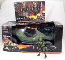 Halo Reach - McFarlane Toys - Warthog + Master Chief + UNSC Trooper 2-pack