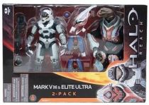 Halo Reach - Series 1 - Spartan Mark V [B] & Elite Ultra 2-pack