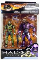 Halo Reach - Series 2 - Spartan CQC & Elite Minor 2-pack