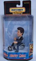 Happy Days, Fonzie on Motorbike  - Matchbox Collectible