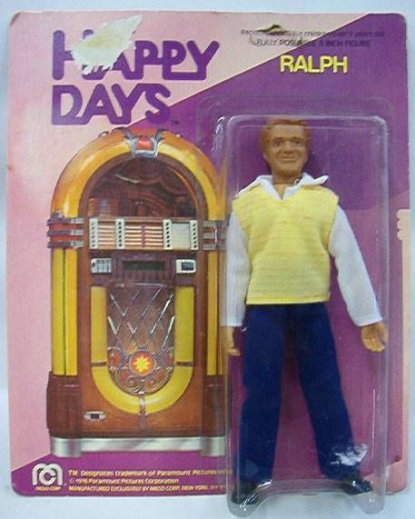 Happy Days, Ralph - Mego Mint on Card