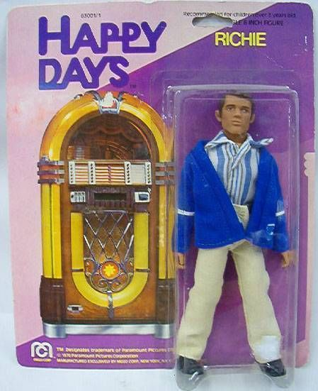 Happy Days, Richie Cunningham - Mego Mint on Card
