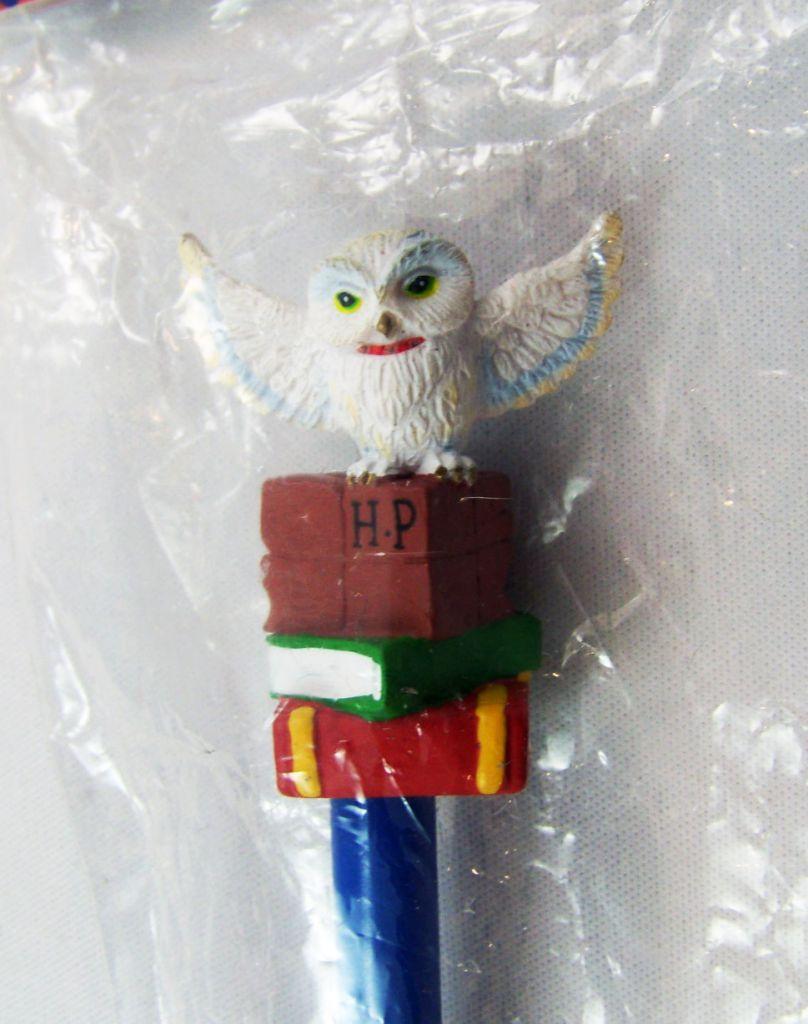 Harry Potter - Achterbahn AG - Crayon avec Embout - Hedwige & les Livres de Magie (neuf)