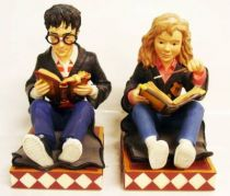 Harry Potter - Enesco - Book Buddy Bookend set (Harry & Hermione)