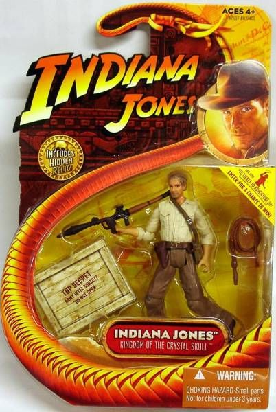 Hasbro - Kingdom of the Crystal Skull - Indiana Jones (with rocket-launcher)
