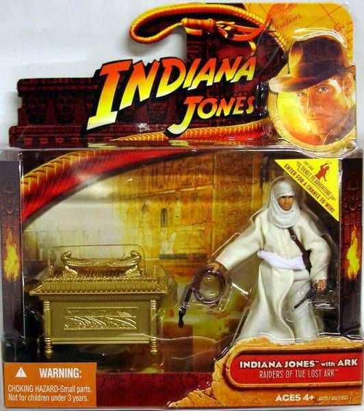 Hasbro - Raiders of the Lost Ark - Indiana Jones (with Ark)