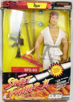 "Hasbro - Ryu 12\"" figure (Street Fighter II / G.I.Joe)"