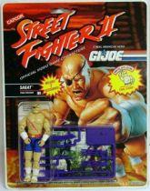 Hasbro - Sagat (Street Fighter II / G.I.Joe)