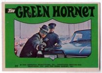he Green Hornet bubble gum sticker N� 22
