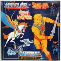 He-Man & She-Ra, Secret of the Sword - LP Record-Story - AB Production records