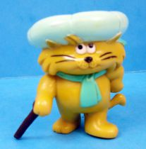Heathcliff - Bandai - pvc figure Riff-Raff with cane