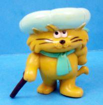 Heathcliff - Bandai - pvc figure Riff-Raff with cane