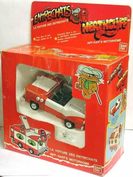 Heathcliff - Bandai - Riff-Raff\\\'s Motor-Home
