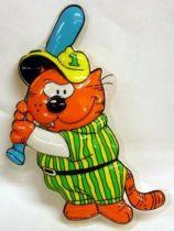Heathcliff - Mirete - 3D Wall Hanger - Baseball Heathcliff