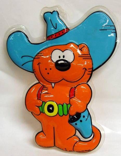 Heathcliff - Mirete - 3D Wall Hanger - Cowboy Heathcliff