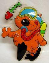 Heathcliff - Mirete - 3D Wall Hanger - Diver Heathcliff