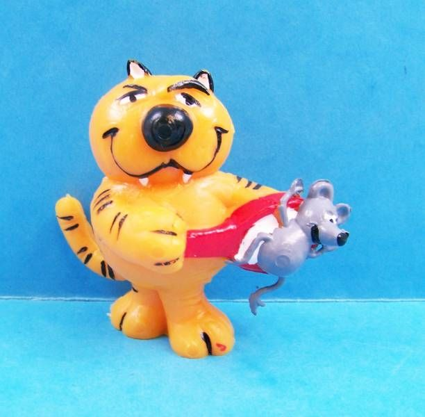 Heathcliff - Yolanda PVC Figure - Heathcliff with mouse #02