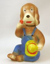 "Hector - Delacoste squeeze toy - 4"" Hector sitting"