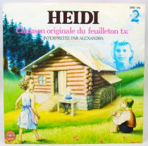 Heidi - Chanson originale du feuilleton T.V. - Disque 45Tours - Saban Records 1982