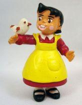 Heidi - Comics Spain -figurine PVC Heidi et Pilou