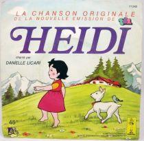 Heidi - Disque 45T- Générique serié télé - Ades 1980