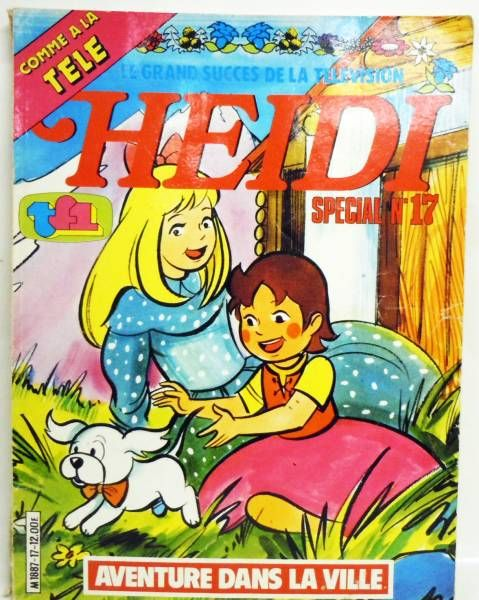 Heidi - Junior Editions Internationales TF1 - Special Heidi n°17