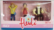 Heidi, Peter & Granpa - Pvc figures - SD Toys