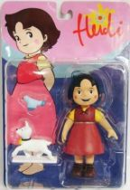 Heidi, Pilou and Blanchette - Pvc figures - SD Toys