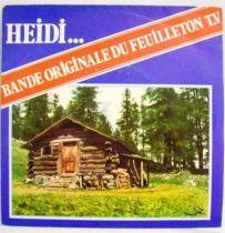 Heidi... Original French TV series Soundtrack - Mini-LP Record - CAT Music records 1978