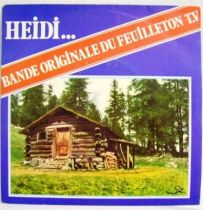 Heidi... Original French TV series Soundtrack - Mini-LP Record - CAT Music records 1978