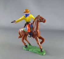 Heimo - Wild-West - Cow-boys Mounted masked firing gun