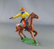 Heimo - Wild-West - Cow-boys Mounted masked firing gun