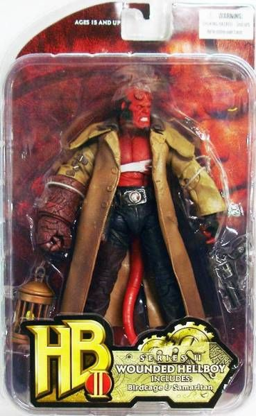 Hellboy II The Golden Army - Wounded Hellboy