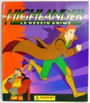Highlander, the animated series - Panini Stickers collector book