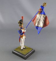 Historex - Napoleonic - Footed Artillerie de la Garde Flag-Holder