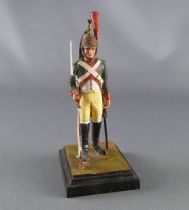 Historex - Napoleonic - Footed Dragon de la Garde Dragon rifle right hand