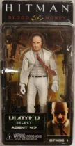 Hitman : Blood Money - Agent 47 (white suit) - NECA Player Select figure